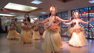 Te Vevo Tahiti no Manoa, the University of Hawai'i at Manoa Tahitian Dance Ensemble performs at the Kapi'olani Community College International Festival on ...