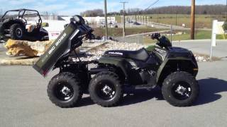 8. 2012 Polaris Sportsman Big Boss 6x6 800 Sage Green