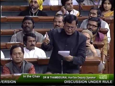 Md Salim Takes On The BJP On The Issue Of Forced Conversions (16/12/2014)