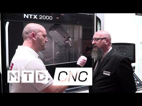 DMG MORI NTX 2000 at MACH 2018 (видео)
