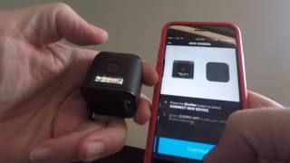Video Pairing the GoPro HERO5 Session to the GoPro App (Capture) MP3, 3GP, MP4, WEBM, AVI, FLV Juli 2018
