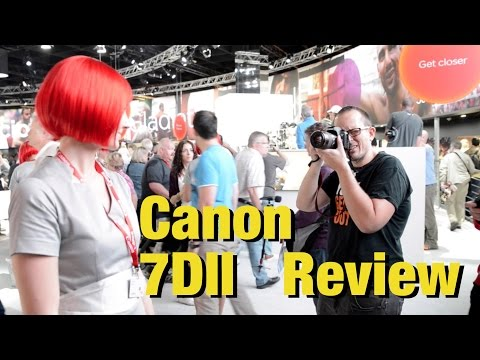 Canon 7DII - hands on review and sample images