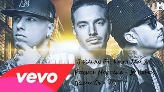 Nonton J Balvin Ft. Nicky Jam & French Montana - Ay Vamos Remix (Audio Oficial) Film Subtitle Indonesia Streaming Movie Download