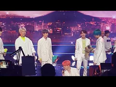 BTS ENCORE MUSICBANK 190419. (BOY WITH LUV FIRST WIN) Fancam