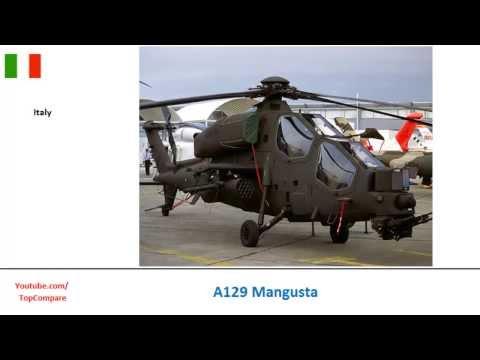 A129 Mangusta Vs Mil Mi-24, Attack...