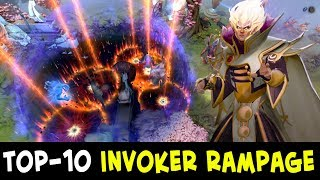 Download Video TOP-10 Invoker RAMPAGES — Divine Rank MP3 3GP MP4