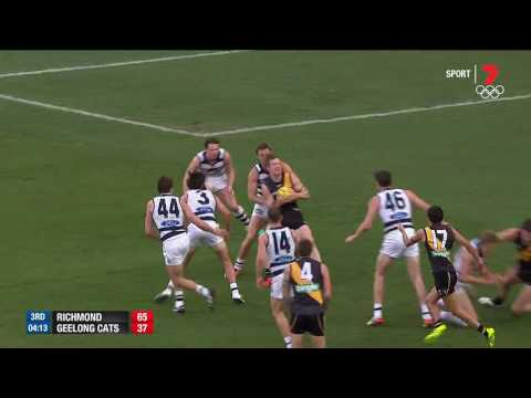 Round 21 Afl - Richmond V Geelong Highlights