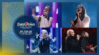Video Eurovision 2018: My Top 26 (Grand Final) MP3, 3GP, MP4, WEBM, AVI, FLV Juli 2018