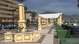 Fuengirola, Paseo Marítimo Rey de España. Octubre 2009.