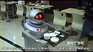 Kunshan China  City pictures : The biggest robot restaurant in Kunshan, China.