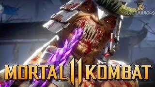 MY BEST BARAKA COMBO! - Mortal Kombat 11 Online Beta: