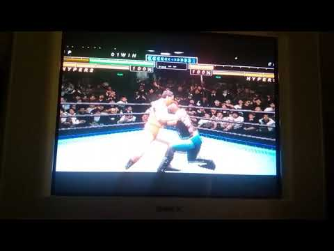 All Japan Prowrestling Featuring Virtua - Featuring Mode - Move Points 234 - Jumping Piledriver (видео)