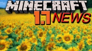 Minecraft News: 1.7 Cliffs, Sunflowers, Biomes, PVP Changes, Tall Grass,&More Plants!