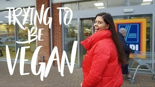 Video FUSSY EATER TRIES VEGAN JANUARY | VEGAN DIARY 1 MP3, 3GP, MP4, WEBM, AVI, FLV Oktober 2018