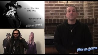 My video clip/interview from Lemmy's Funeral (Motörhead) on THE METAL VOICE