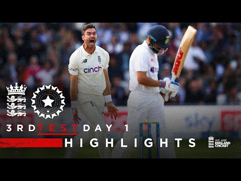 Dominant All-Round Performance! | England v India - Day 1 Highlights | 3rd LV= Insurance Test 2021