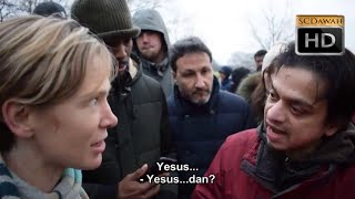 Video P2 -Apakah Anda Tuhan   Mansur vs Lizzie Christian Speakers Corner Hyde Park MP3, 3GP, MP4, WEBM, AVI, FLV Oktober 2018