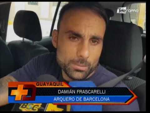 Barcelona continúa con los trabajos para juego ante El Nacional