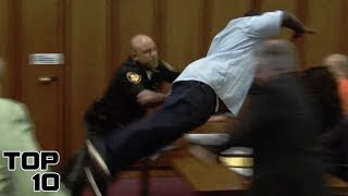 Top 10 Insane Courtroom Freak Outs After Sentencing