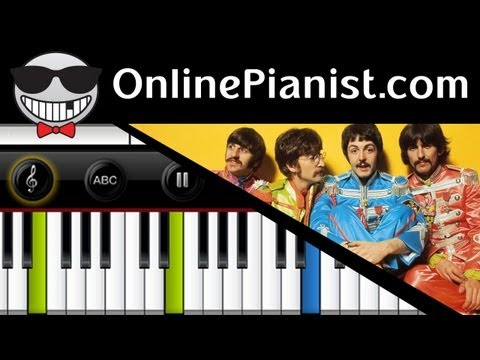 The Beatles - Let it Be - Piano Tutorial