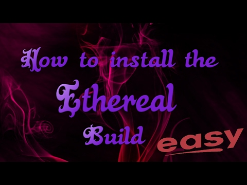How to install the best Kodi 17 Build, Ethereal Build on Kodi 17