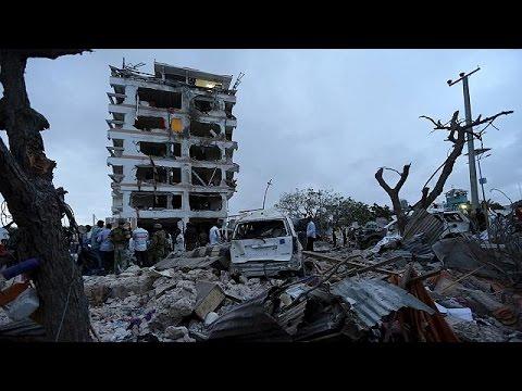 Σομαλία: Πολύνεκρη επίθεση αυτοκτονίας σε ξενοδοχείο