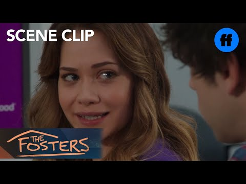 The Fosters | Season 4, Episode 15: Brandon Supports Emma Through A Difficult Situation | Freeform