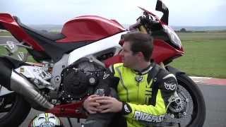 10. Aprilia RSV1000 Track Test