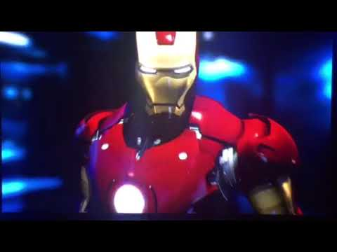 Opening to Iron Man 2008 Blu-Ray.