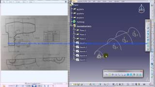 Catia V5 Tutorial|Product Engineering|How to create a Hair Dryer Cover|Simple steps Beginners|Part 2