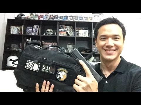 DanVlog รีวิว กระเป๋า 5.11 Rush Messenger Bag Mike