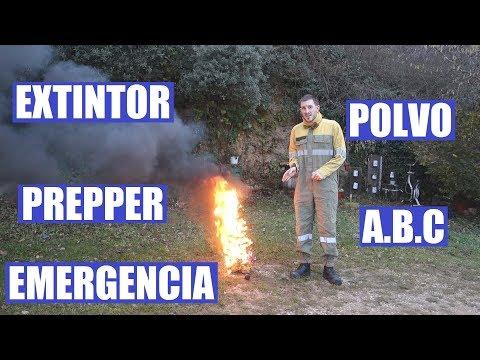 Prepper extintor para emergencias