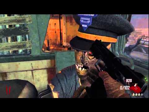 Black Ops 2 Zombies HIDDEN Bus Stop - Tranzit Dont Piss Off The Driver