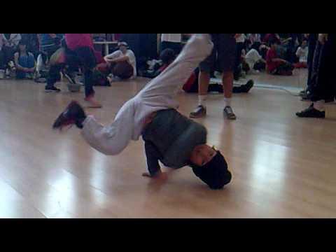 break dance niño de 7 años barcelona 2010