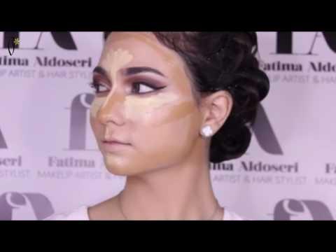 Makeup Tutorial by Fatima Al Doseri | ميكب توتوريال مع فاطمة الدوسري (видео)