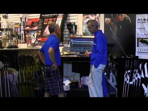 GOLF SMARTER TV – Custom Club Fitting at Local Big Box Pro Shop