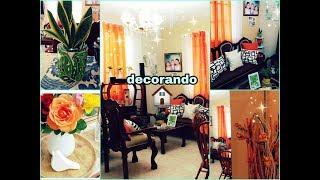 Organizando la sala/moviendo los adornos/sembrando una planta 🌵/vida de ama de casa 🏠vlogs