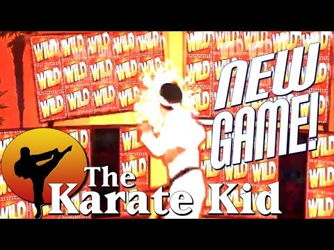 ** WE ❤️ THE 80's! 🕹️ NEW SLOTS FROM EVERI - The Karate Kid Slot! | G2E Tour