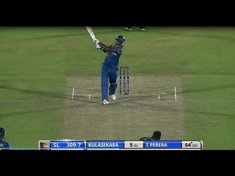 Kapugedara takes a super catch to dismiss Raina