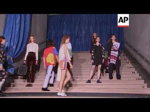 Ukrainian designer Anton Belinskiy presents first official runway show in Paris видео