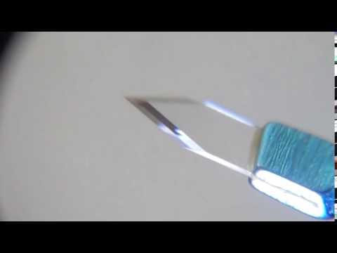 Sapphire Knives for Clear Cornea Incision  Titanium Handle