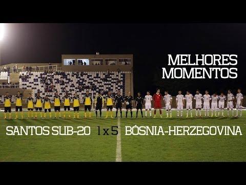 bósnia - Na noite desta segunda-feira (09), o time de Juniores do Santos FC enfrentou a Seleção da Bósnia-Herzegovina, no Guarujá, e foi derrotado pelo placar de 5 a ...