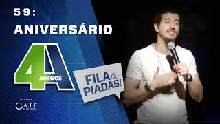 Video FILA DE PIADAS - ANIVERSÁRIO - #59 MP3, 3GP, MP4, WEBM, AVI, FLV Mei 2018