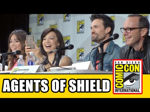 Agents of SHIELD SDCC Official Panel 2014 – Season 2