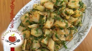 Patates Salatası Tarifi http://www.enyenitatlar.com/salatalar/patates-salatasi-tarifi/ Malzemeler: 4 adet küçük boy patates 1 adet kuru soğan Maydanoz Limon ...