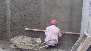 Штукатурка стен дома от начала и до конца.
