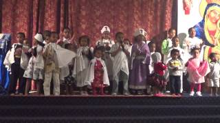 ETHIOPIAN ORTHODOX TEWAHEDO CHURCH KIDS SING SONG In Oakland, CA JUN23 2013.