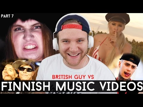 REACTING TO FINNISH MUSIC VIDEOS | Part 7