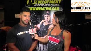 Yanelis Pupo del equipo MDLatino TV nos presenta una entrevista con el atleta IFBB Pro Bodybuilder, Santi Aragon, en el evento Dayana Cadeau Cup 2015 Para ve...