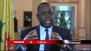 Macky Sall sur TV5MONDE : Le soutien du Sénégal à un Etat Palestinien